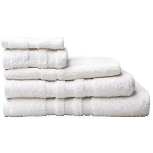 Logan-and-Mason-Low-Twist-100-Cotton-Towels-600gsm-White-Size-Set-Choice-3