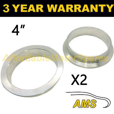 """V-band clamp en acier inoxydable d/'échappement turbo tuyau de remplacement brides 3.25/"""" 83mm"""