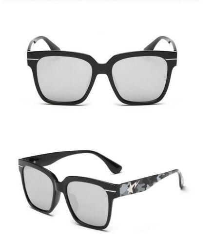 Newly Men Women Camo Sunglasses Fashion Mirror Lens Sunglasses 8 Colors Hot