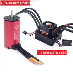 Motor-con-4076-2000KV-motor-sin-escobillas-Impermeable-ESC-150A-ESC-para-RC-Coche-1-8