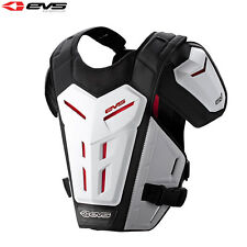EVS REVO 5 WHITE ADULT BODY UNDER ARMOUR CHEST PROTECTOR MOTOCROSS ROOST GUARD