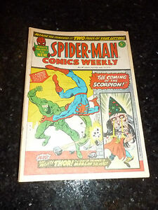 SPIDER-MAN-Comics-Weekly-No-14-Date-19-05-1973-UK-Paper-Comic