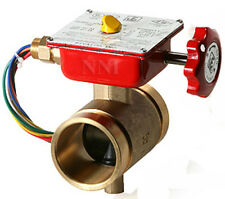 2 12 Bronze Butterfly Valve Grooved With Tamper Switch Ulfm Fire Protection