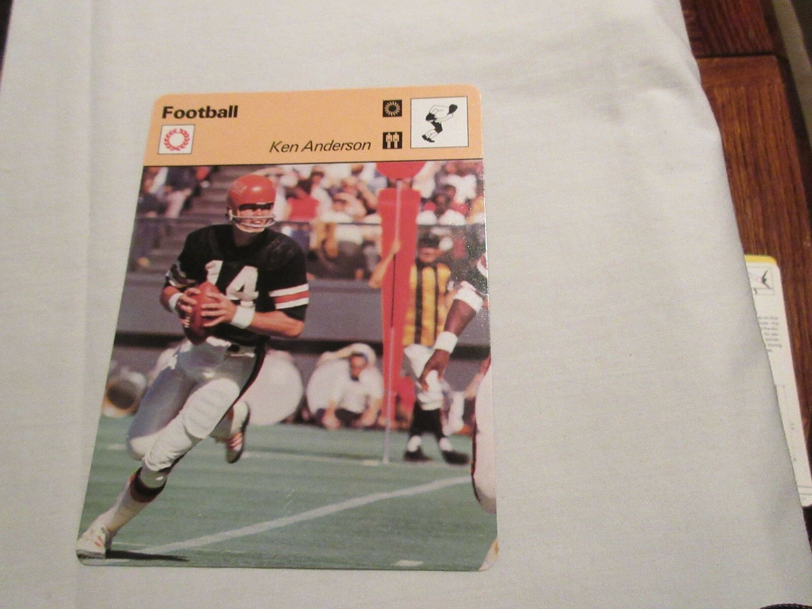 Sportscaster Cards 1978 Deck # 20 Cards # 1-24 Thurman