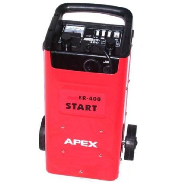 Jump Starter Charger Booster 400 Battery Starter 12V 24V Charger With Trolley