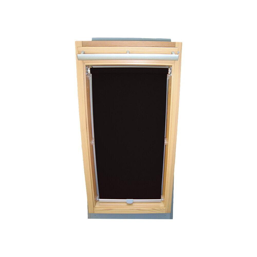 Dachfensterrollo Sichtschutzrollo Rollo für Braas BJ (Junior) - - - schwarz 37db3e