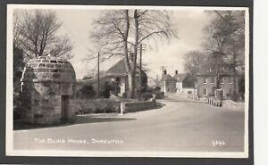 Postcard Shrewton on Salisbury Plain nr Amesbury view of The Blind House RP