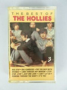 Vintage NEW The Best Of The Hollies Cassette Tape Sealed Pop Rock