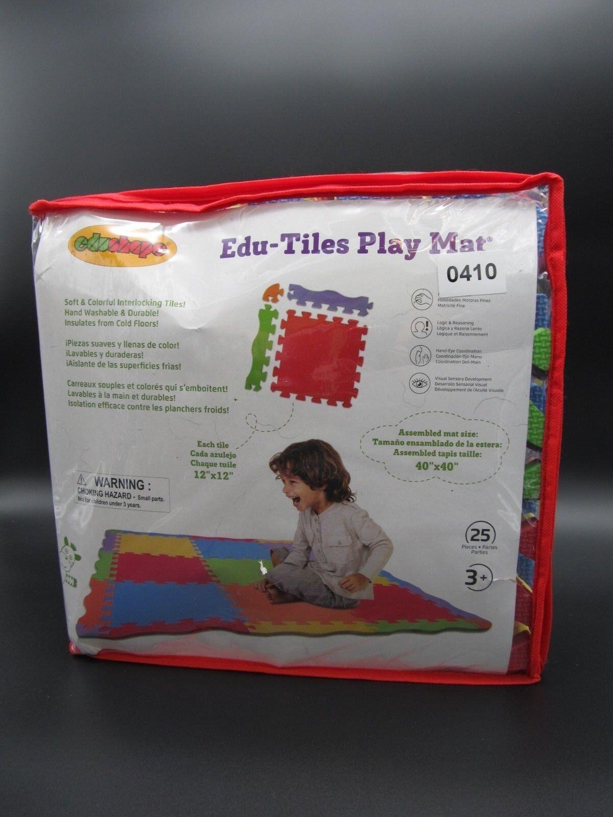 Baby Toy Edushape Edu Tiles Play Mat 25