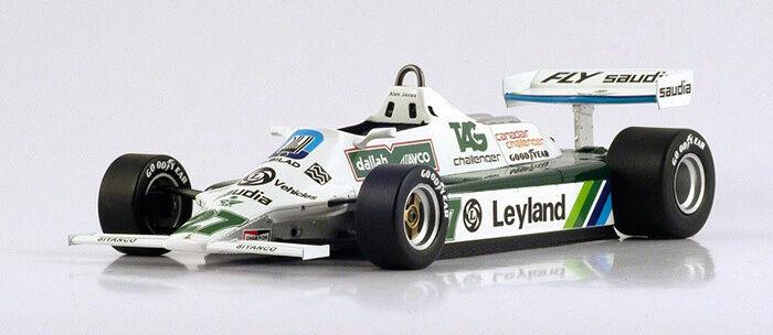 ventas calientes Williams FW07B World Champ.1980 A.Jones 1 1 1 18 18S117 Spark Model  mejor reputación