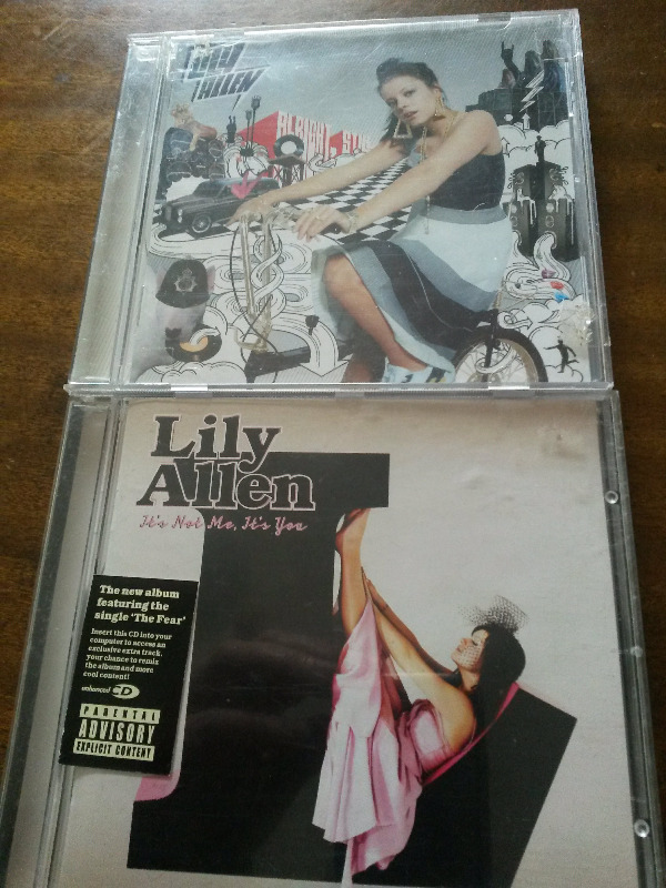 2 Lily Allen CDs R140 for both or sold separately