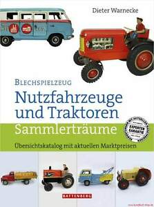Fachbuch Blechspielzeug<wbr/>, Nutzfahrzeuge und Traktoren, BILLIGER, statt 19,80€ NEU