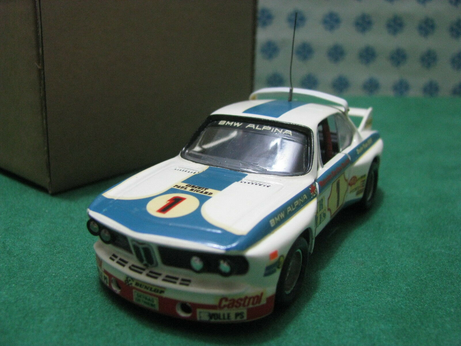 Vintage - BMW 3000 CLS Team BMW Alpina - 1 43 Traitement Solido 1974