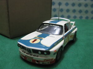 Vintage-BMW-3000-CLS-Team-bmw-Alpina-1-43-Traitement-Solido-1974