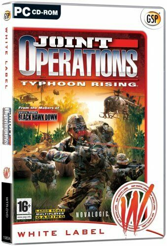 Joint Operation Typhoon Rising (PC CD) BRAND NEW SEALED