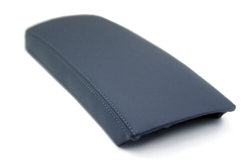 Center Console Armrest Real Leather Cover for Toyota Prius 04-09 Gray