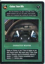 Star Wars CCG Dagobah Limited BB Zuckuss' Snare Rifle