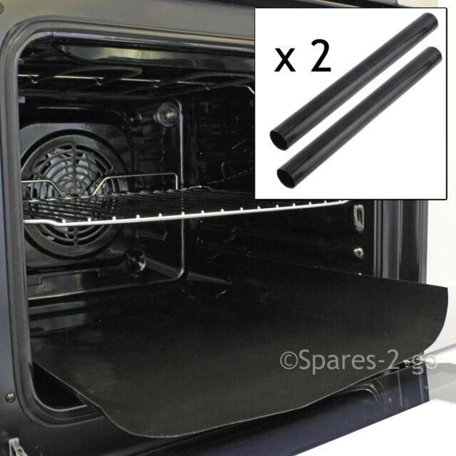 2 x UNIVERSAL Teflon Oven Cooker Non Stick Heavy Duty Liner Lining 40 x 50 cm