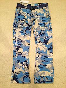 NWT Men s Imperious Light Blue Camouflage Camo Slim Fit Cargo Pants ... 772c70a31c3