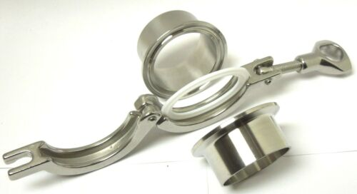 SANITARY ASSEMBLY 2″ FERRULE GASKET CLAMP 304 STAINLESS TRI CLOVER /<SAN02KIT