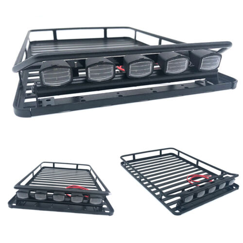 Metall Gepäckträger Roof Rack Luggage für 1//10 Axial SCX10 90046 D90 RC4WD Truck