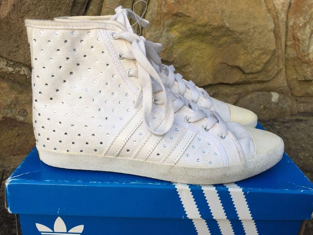 Adidas Originals ADRIA MID SLEEK W Baskets Bottes V24153-blanc UK5/US6.5  85-