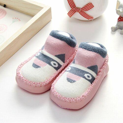 Baby Girl Boy Anti-slip Socks Cartoon