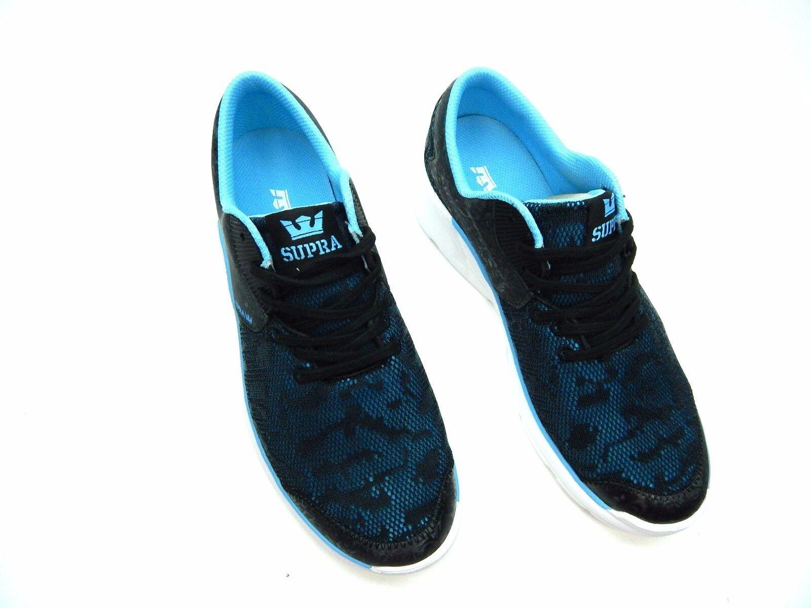 SUPRA NOIZ SLICK BLACK OIL SLICK NOIZ 98026-069-M WOMEN Schuhe 7 TO 10 c39722