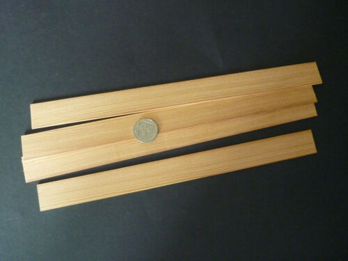 etc 2mm x 25mm x 300mm Wood Strip/_Douglas Fir 4 lengths for Modeling,Craft
