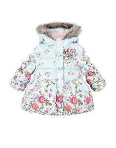 a08d38d50 Monsoon Baby Primavera Print Puffa Winter Coat 6-12 Months