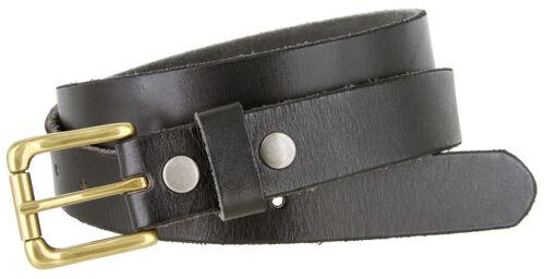 "Wide Men/'s dres belt genuine full leather casual dress belts 1-1//8/"" 30mm"