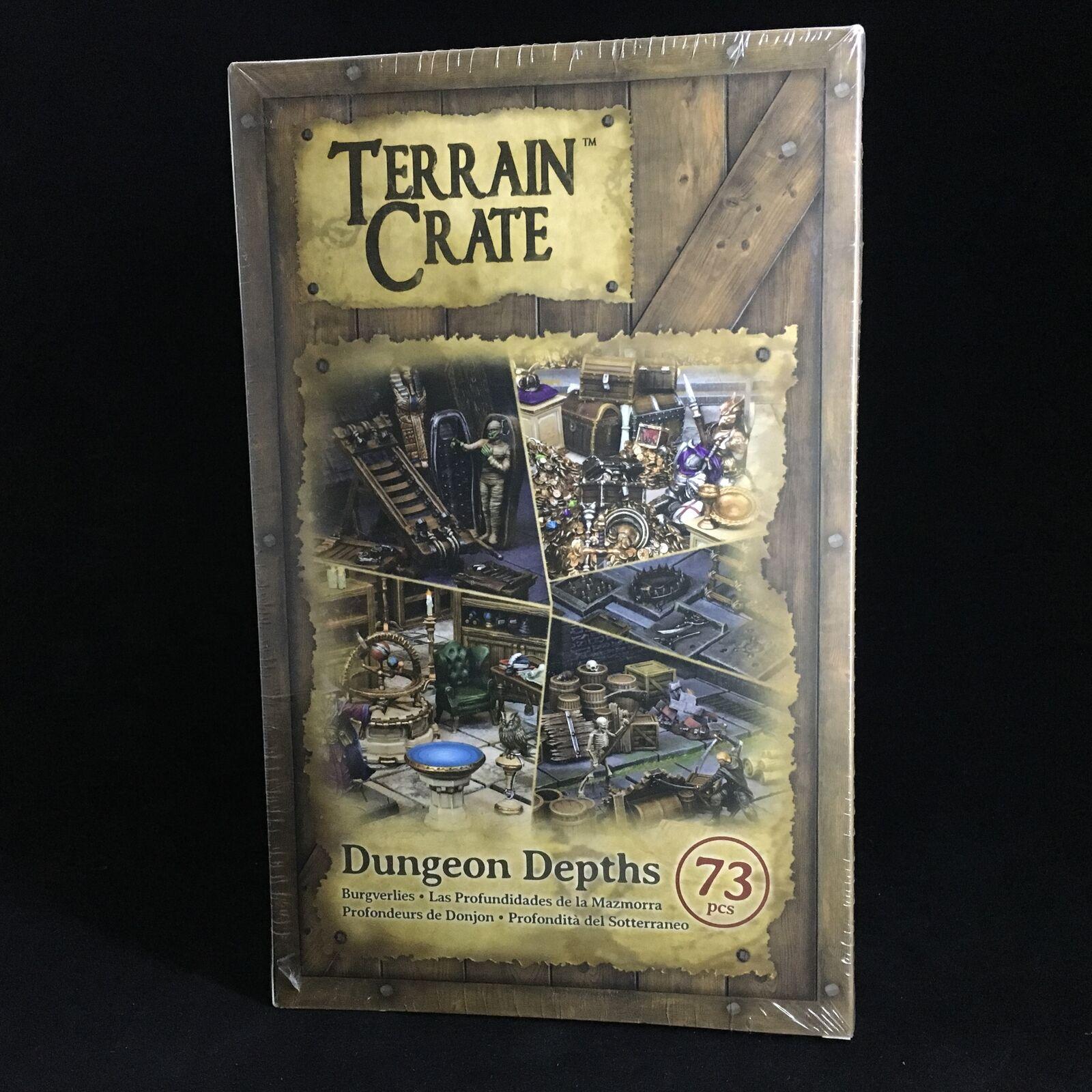TERRAIN CRATE  Dungeon Depths - Mantic Games