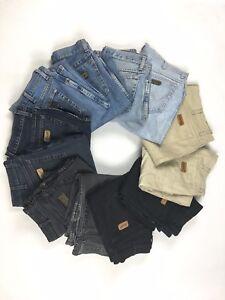 Wrangler-034-TEXAS-034-Jeans-W26-W28-W30-W32-W34-W36-W38-W40-super-Zustand