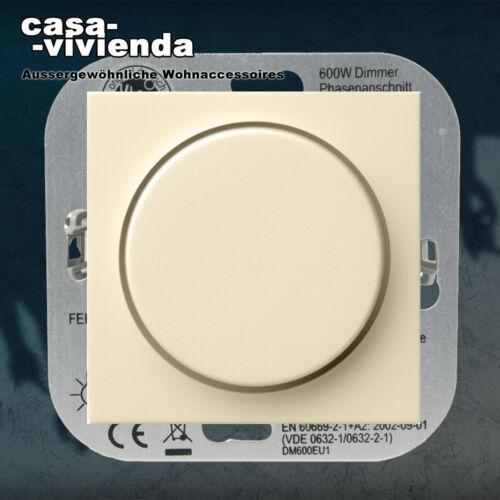 40-600W KLEIN® Dimmer Druck-Wechsel E2® CW passend zu GIRA Standard 55®