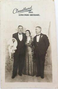 c1940s-REAL-PHOTO-POSTCARD-CLOUDLAND-LUNA-PARK-BRISBANE
