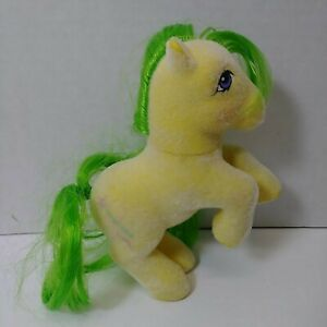 Vintage-G1-My-Little-Pony-So-Soft-Flocked-Rearing-SS-Magic-Star