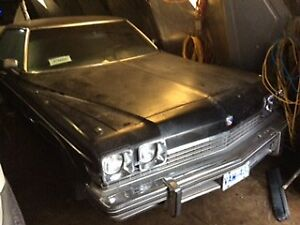 1974 buick electra, car in storage for years, 4 door H T