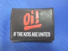 Oi! If the kids are united real leather wallet Geldbörse echt Leder mit Kette