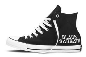 67902ae1a4e9 Converse x BLACK SABBATH Mens Shoes (NEW) Chucks - NEVER SAY DIE ...
