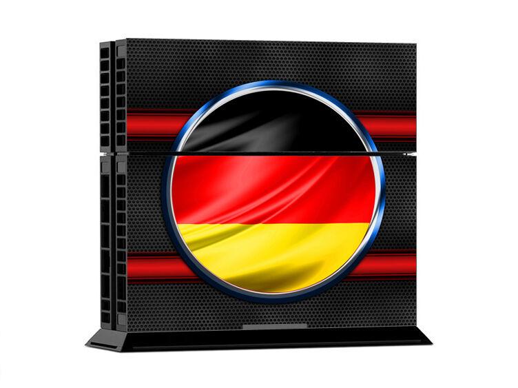 Sony PS4 PLAYSTATION 4 Skin Design Sticker Screen Protector Set - Germany Motif