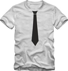 Das Bild wird geladen T-Shirt-mit-Krawatte-aufgedruckt-Junggesellenabschied- Krawatten-T- b8125ed5e2