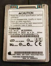 "**2-PACK** 30GB 1.8/"" ZIF LAPTOP HARD DRIVE TOSHIBA MK3008GAL DELL XT D430 YH425"