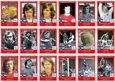 Ajax European Cup winners 1973 football trading cards Johan Cryuff