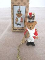 Soldier Teddy Bear Ceiling Fan Or Lamp/light Pullnew In Box