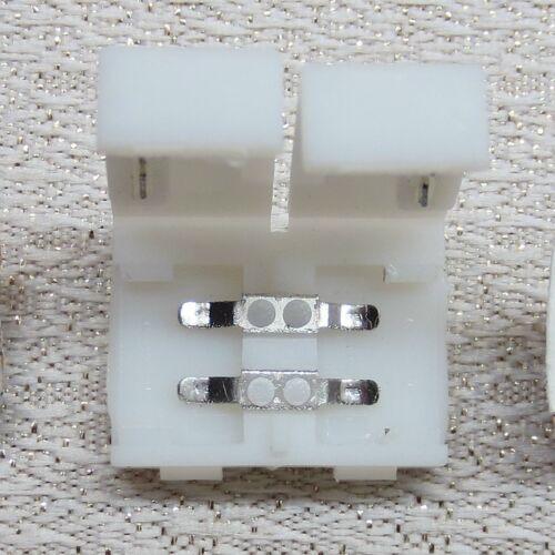 LED Zubehör Dimmer Y Kupplung Stecker 5,5 x 2,1 mm Clip 8 mm Split Kabel Hohl