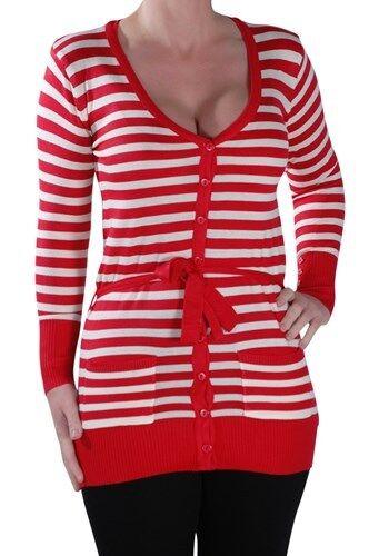 longues manches à femmes Cardigan tricoté pour pqw6TXI