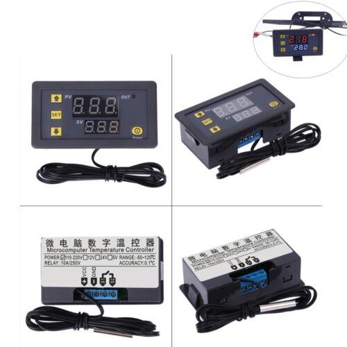W3230 LCD AC 110V-220V 10A Thermostat Temperature Controller Meter Regulator
