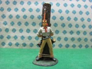 Vintage - TRAPPER  prigioniero legato al tronco  70 mm.  -  Elastolin  6958