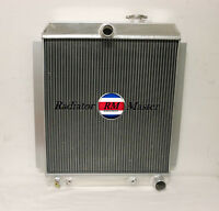 Aluminum Radiator For 1947-1954 Chevy Pickup Truck 1948 1949 1950 1951 1952 1953