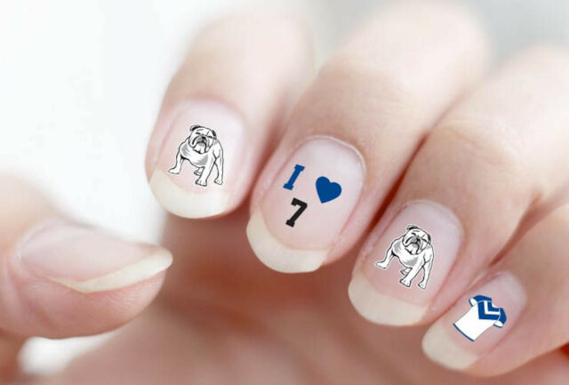 Nrl Nail Art Decal Stickers For Gel Or Polished Nails Select Team